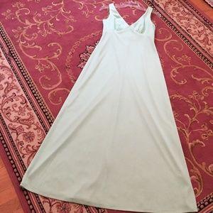 Dresses & Skirts - VINTAGE 1965 MINT GREEN PROM DRESS